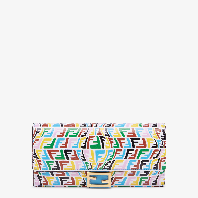 FENDI CONTINENTAL - Multicolour leather wallet - view 1 detail