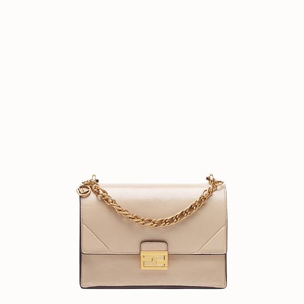 FENDI KAN U - Beige leather bag - view 1 small thumbnail