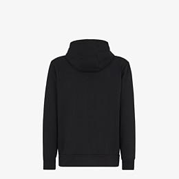 FENDI SWEATSHIRT - Sweatshirt aus Jersey in Schwarz - view 2 thumbnail