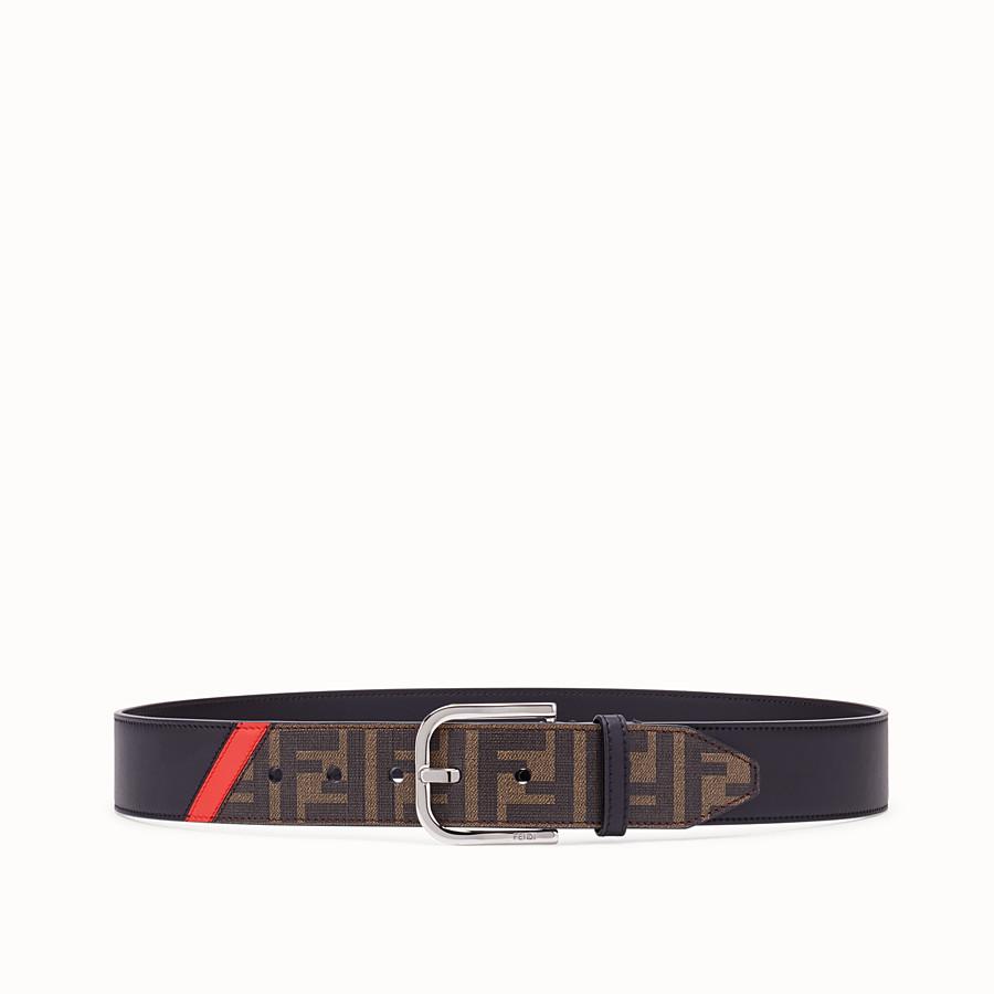 FENDI CINTURA - Cintura in tessuto marrone - vista 1 dettaglio