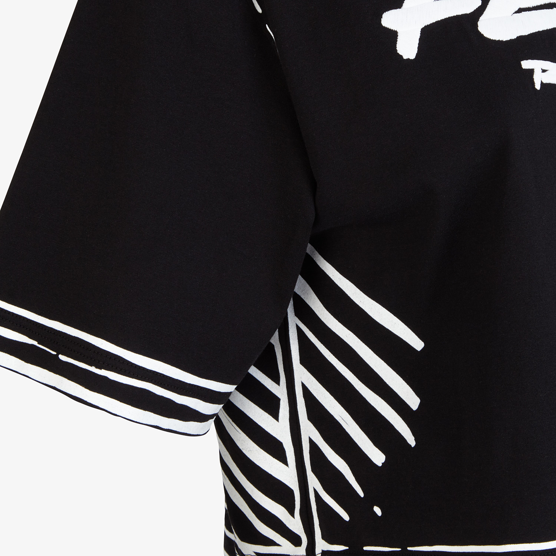 FENDI T-SHIRT - Fendi Roma Joshua Vides cotton T-shirt - view 3 detail