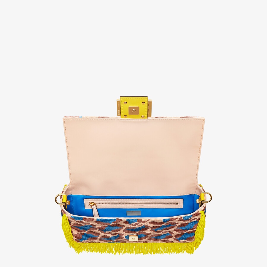 FENDI BAGUETTE - Bag with multicolor beads - view 5 detail
