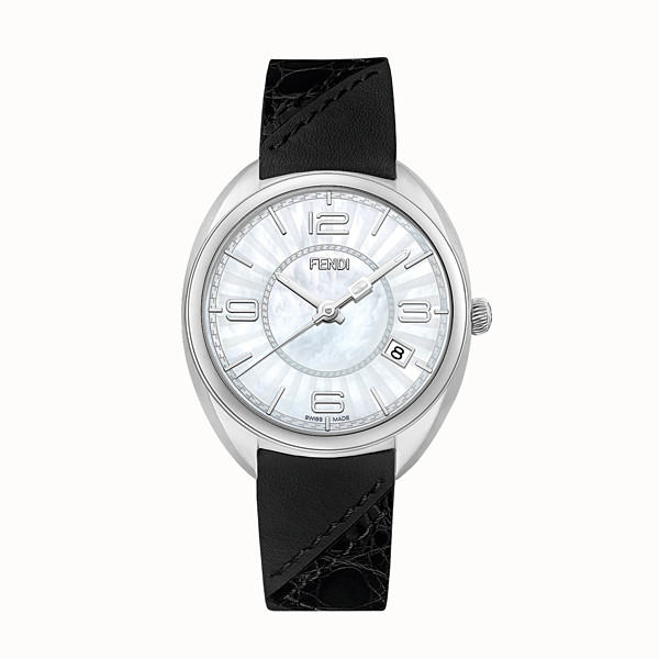 FENDI MOMENTO FENDI - 34 mm - Watch with strap - view 1 small thumbnail