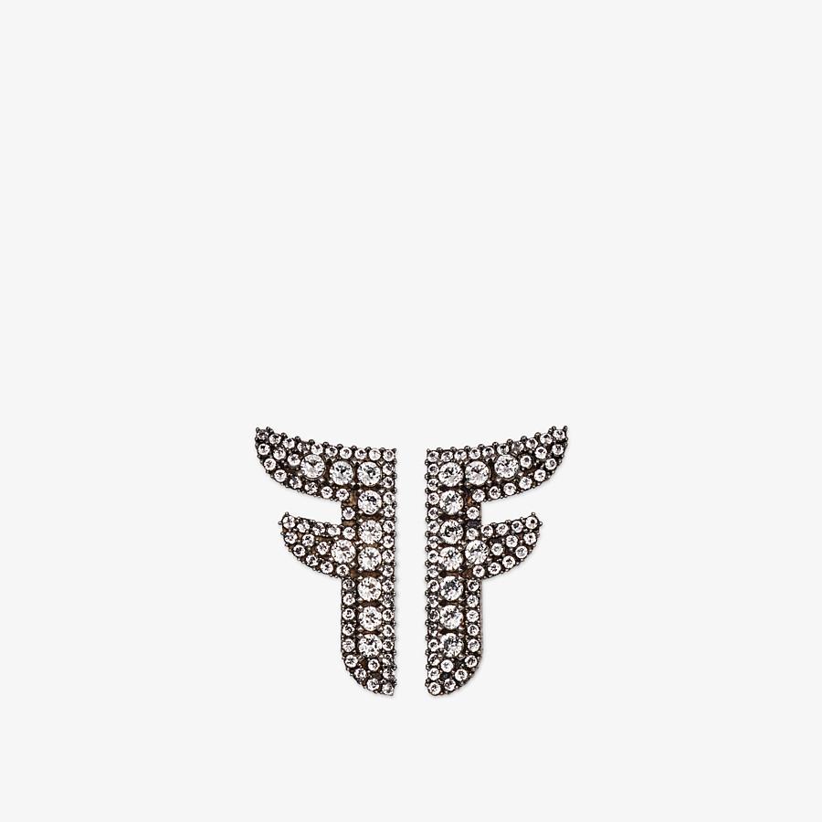 FENDI OHRRINGE FFREEDOM - Ohrringe in den Farben Gold und Palladium - view 1 detail
