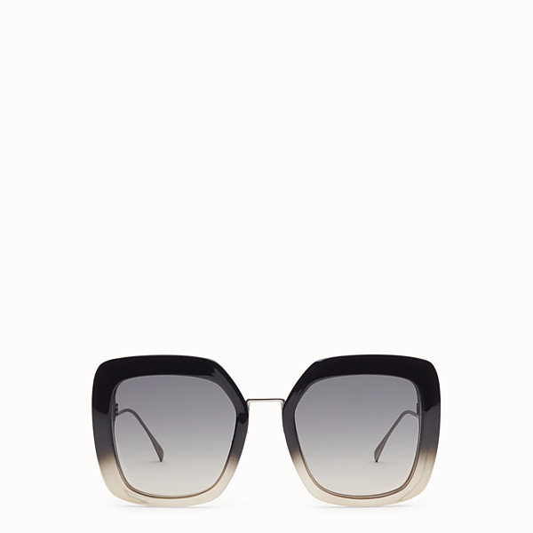 FENDI TROPICAL SHINE - Black and grey sunglasses - view 1 small thumbnail
