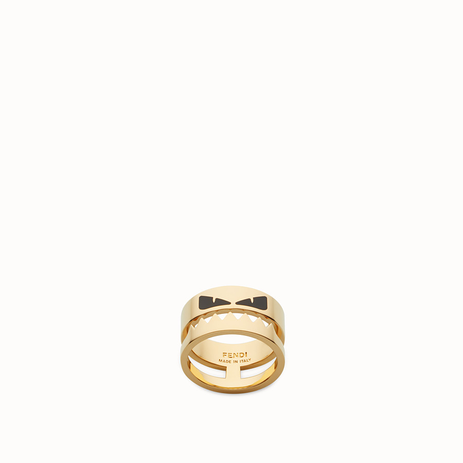 FENDI RING - Gold-colour ring - view 1 detail