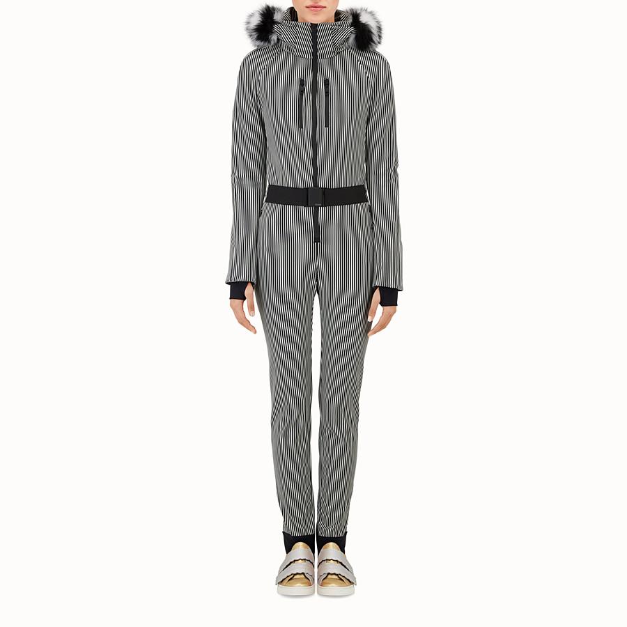 FENDI SKI SUIT - Striped ski suit in technical fabric - view 1 detail