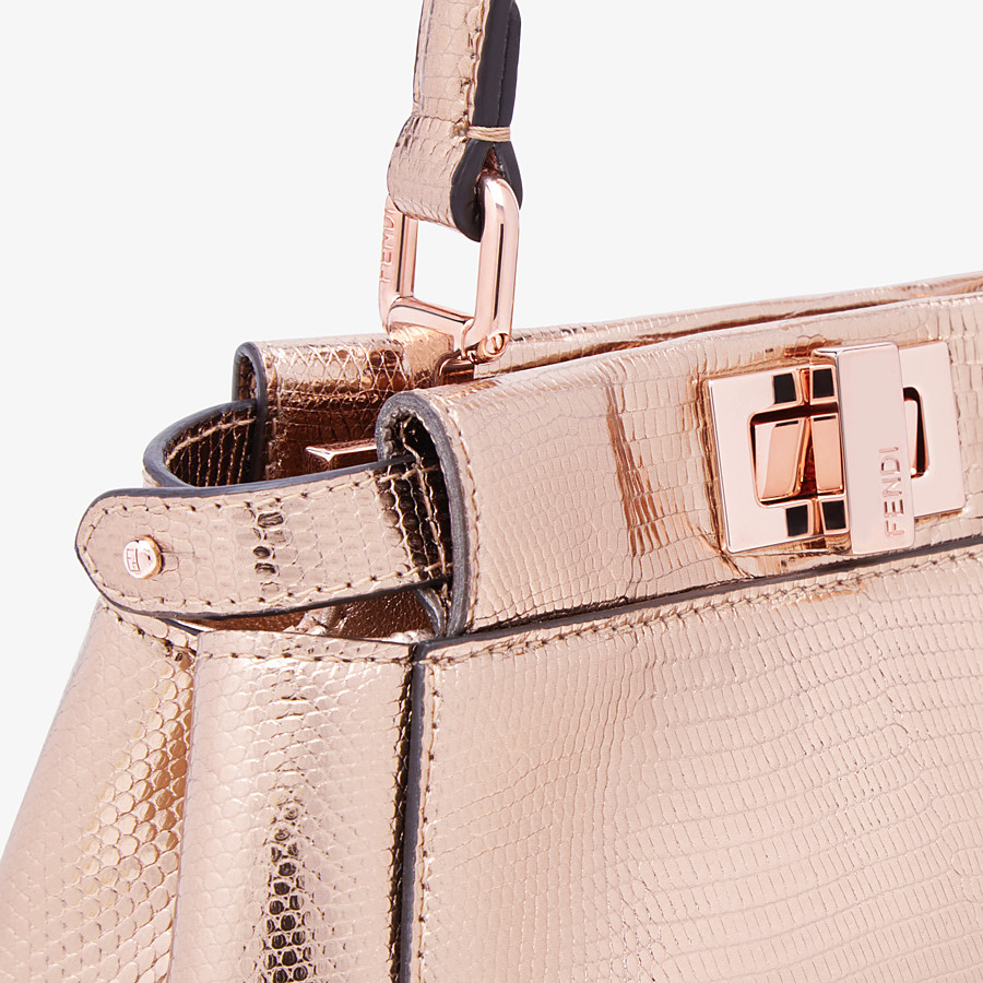 FENDI PEEKABOO ICONIC XS - Mini-bag from the Chinese New Year Limited Capsule Collection - view 5 detail
