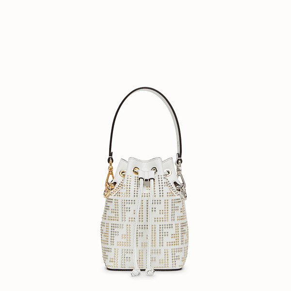 FENDI MON TRESOR - White leather minibag - view 1 small thumbnail