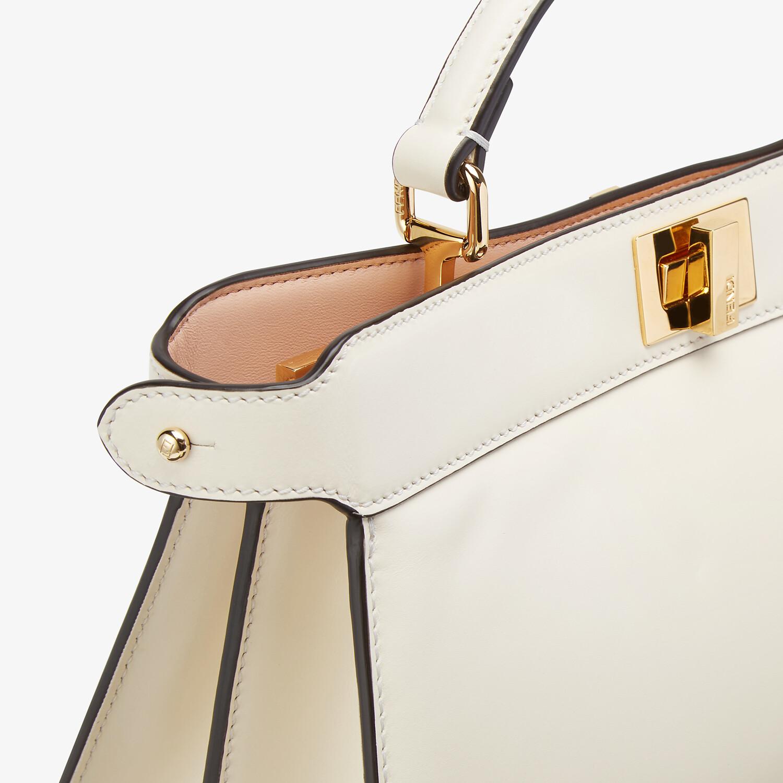 FENDI PEEKABOO ISEEU EAST-WEST - Pink leather bag - view 6 detail
