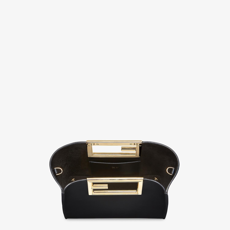 FENDI FENDI WAY SMALL - Black leather bag - view 4 detail