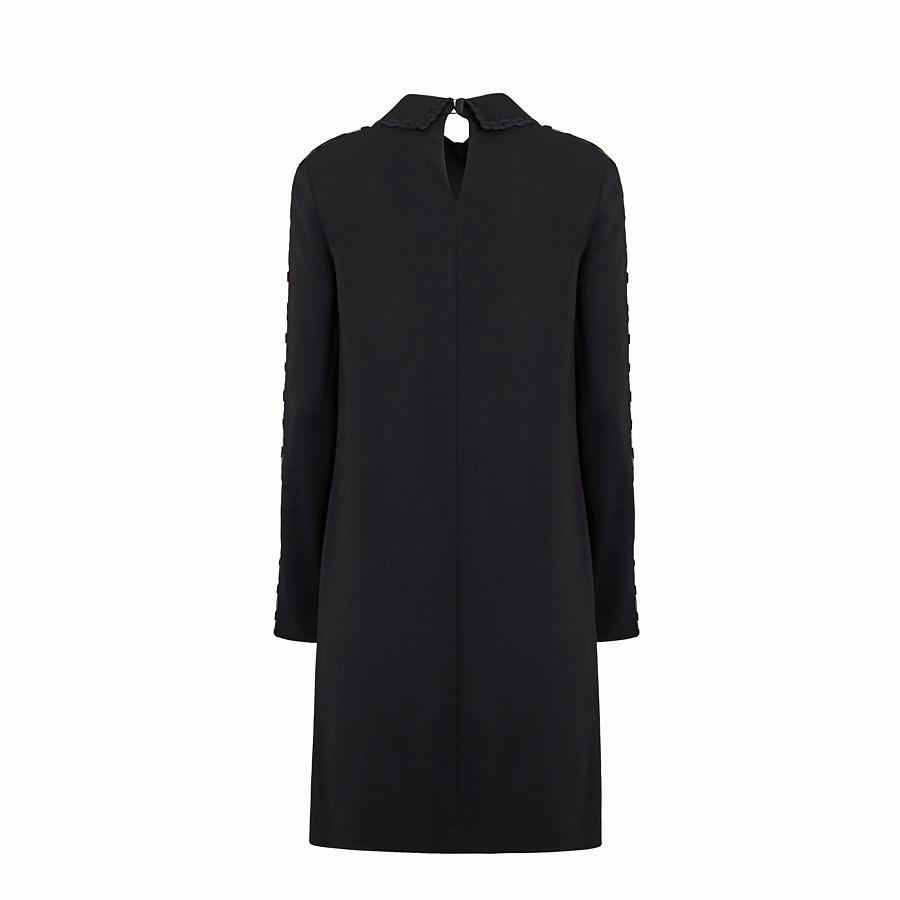 FENDI KLEID - Kleid aus Cady in Schwarz - view 2 detail