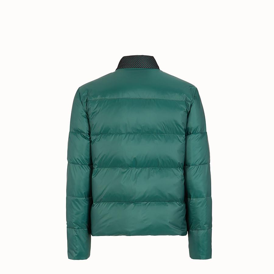 FENDI DOWN JACKET - Multicolor nylon down jacket - view 2 detail