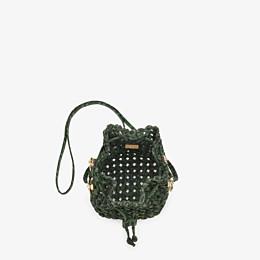 FENDI MON TRESOR - Jacquard fabric interlace mini-bag - view 5 thumbnail