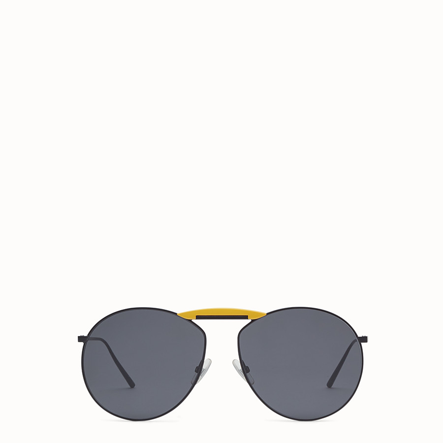 FENDI SUNGLASSES - Black sunglasses - view 1 detail