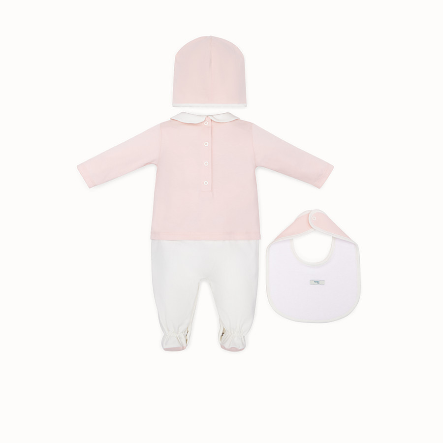 FENDI BABY'S KIT - Multicolour cotton baby kit - view 2 detail