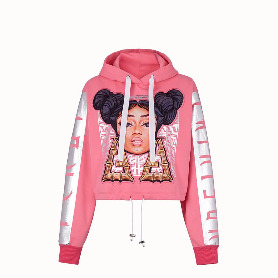FENDI SWEATSHIRT - Fendi Prints On jersey sweatshirt - view 1 detail