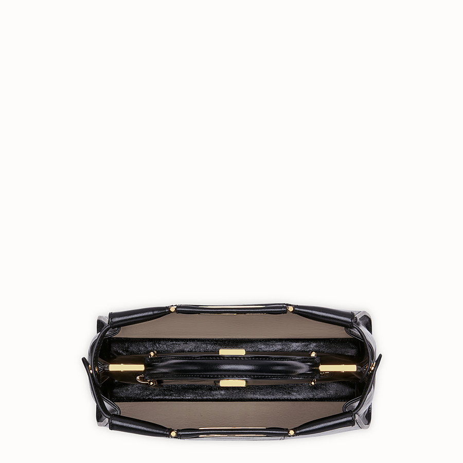 FENDI PEEKABOO ICONIC MEDIUM - Tasche aus Leder in Schwarz - view 6 detail