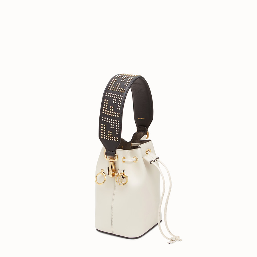 FENDI MINI STRAP YOU - Schulterriemen aus Leder - view 2 detail