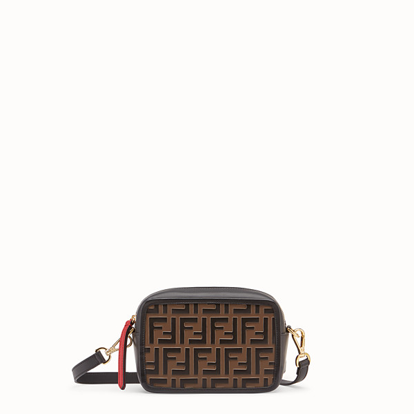 FENDI MINI CAMERA CASE - Sac en cuir rouge - view 1 small thumbnail