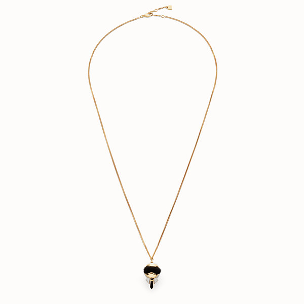 FENDI KARLITO NECKLACE - Gold colour necklace - view 1 small thumbnail