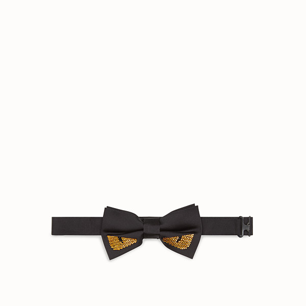 FENDI BOW TIE - Black silk bow tie - view 1 small thumbnail