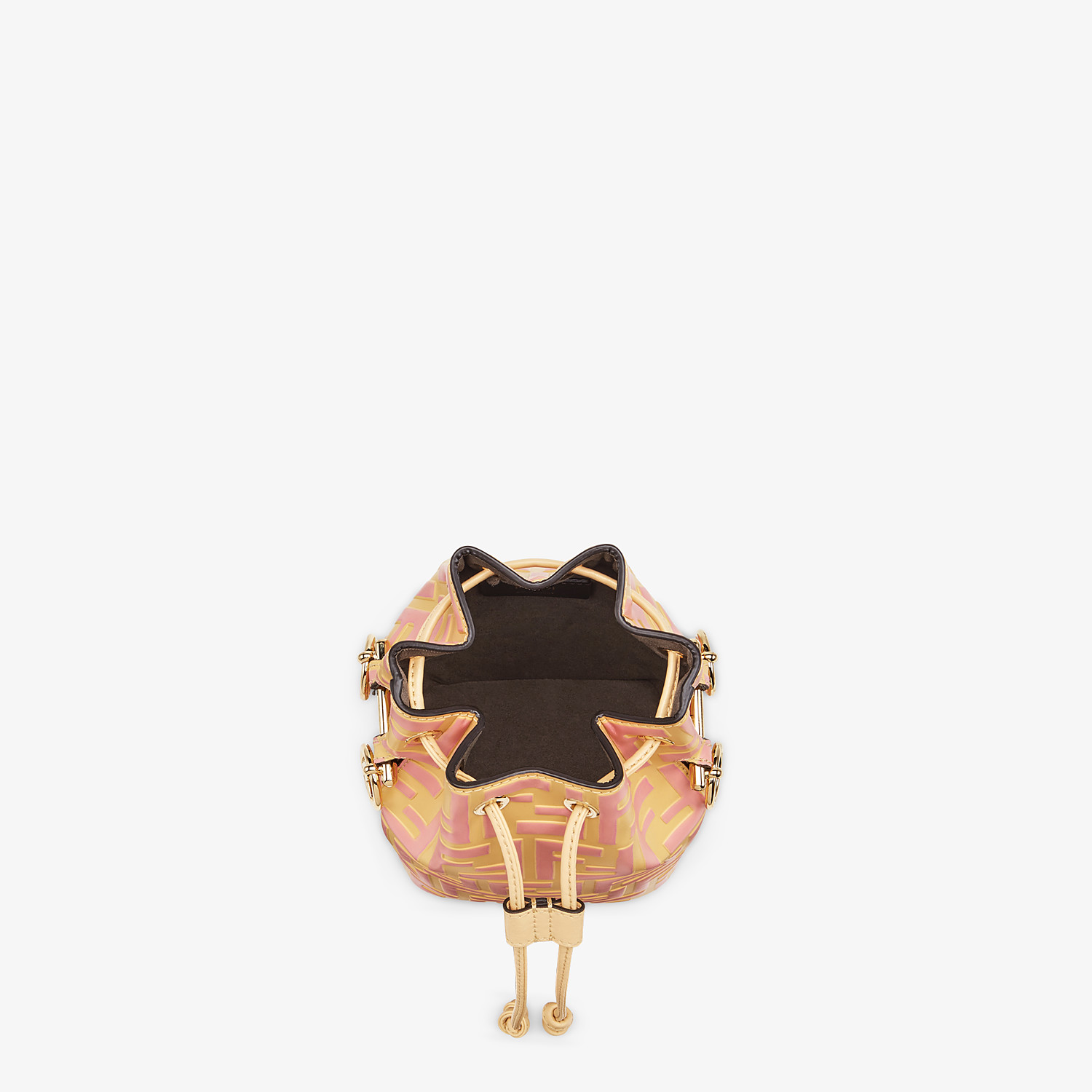 FENDI MON TRESOR - Beige leather mini bag - view 4 detail