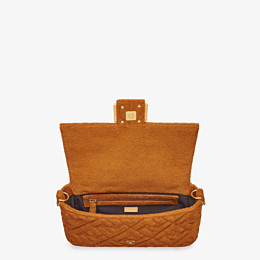 FENDI BAGUETTE - Brown terrycloth bag - view 4 thumbnail