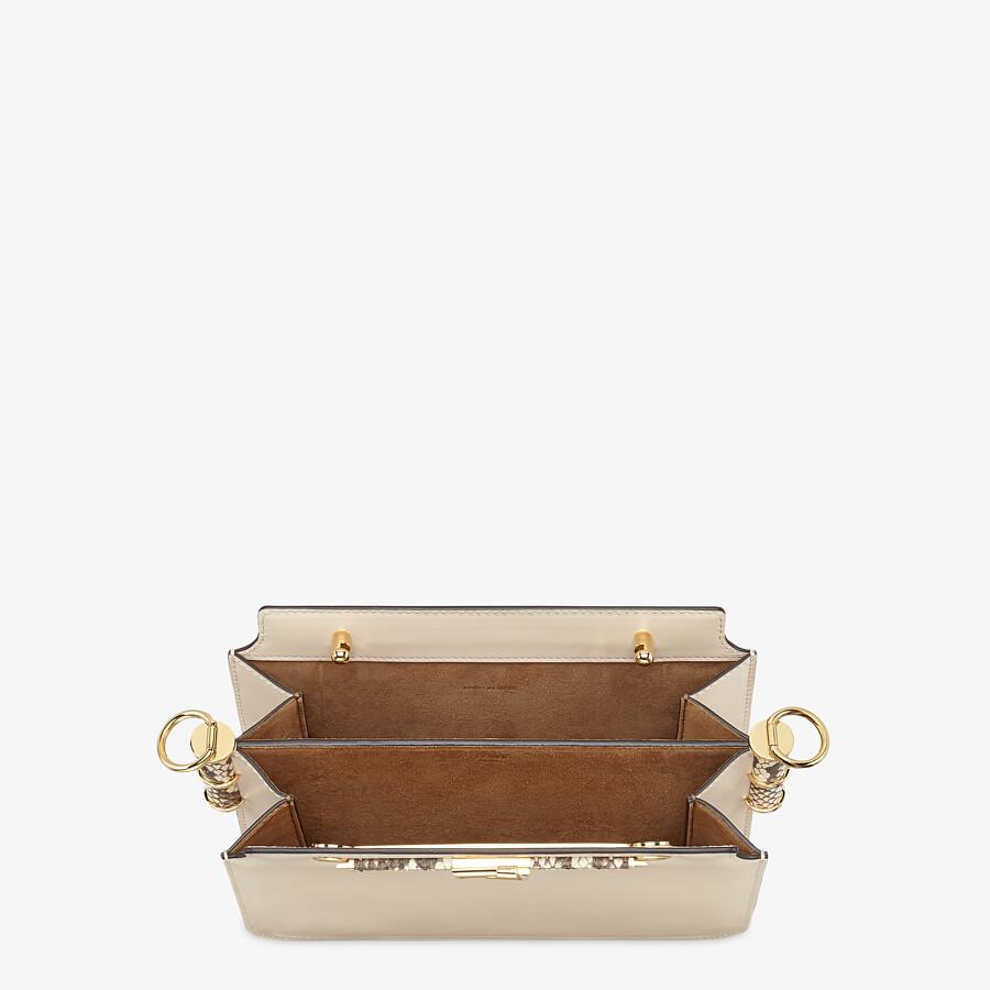 FENDI FENDI TOUCH - White leather bag - view 5 detail