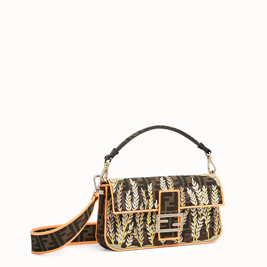 FENDI BAGUETTE - Multicolor fabric bag - view 2 detail