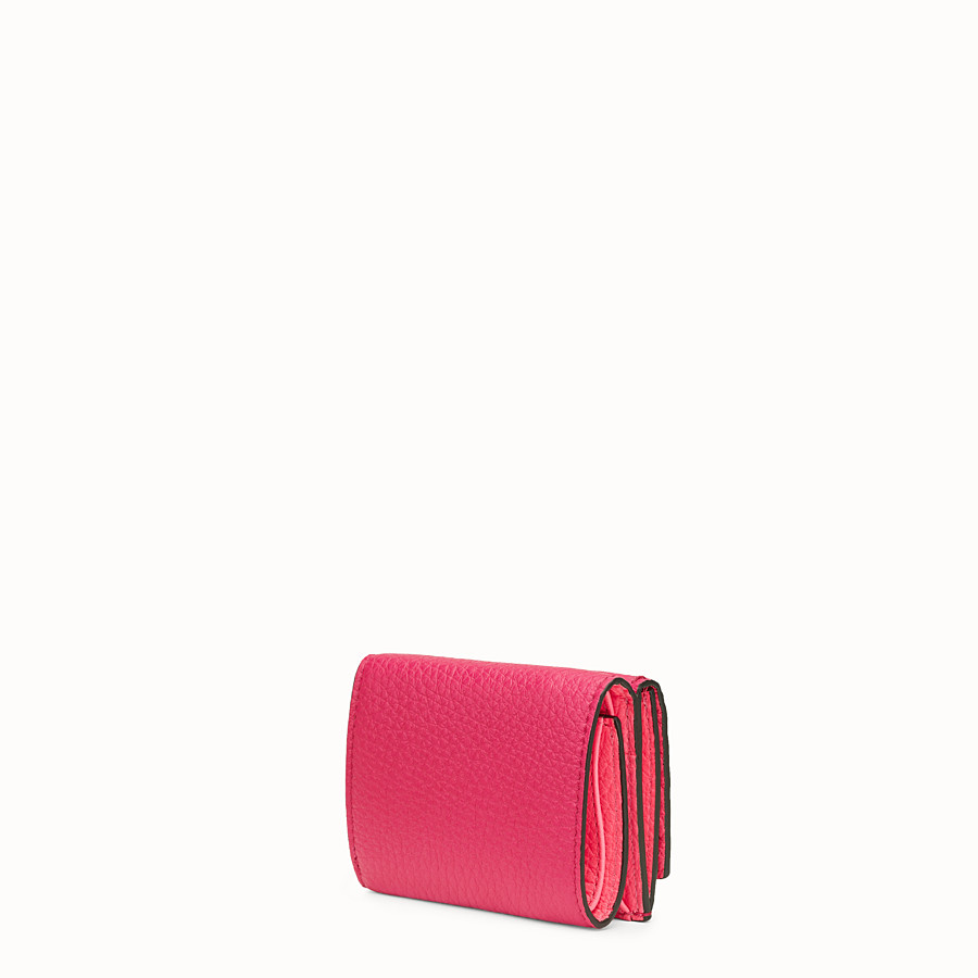 FENDI MICRO TRIFOLD - Fendi Roma Amor leather wallet - view 2 detail