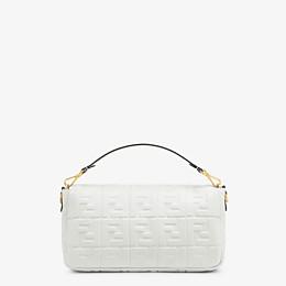 FENDI BAGUETTE LARGE - White leather bag - view 4 thumbnail