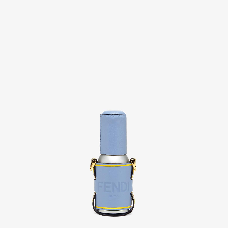 FENDI DISPENSER HOLDER - Light blue leather dispenser holder - view 1 detail
