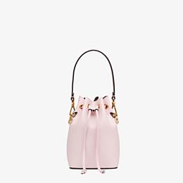 FENDI MON TRESOR - Pink leather mini-bag - view 1 thumbnail
