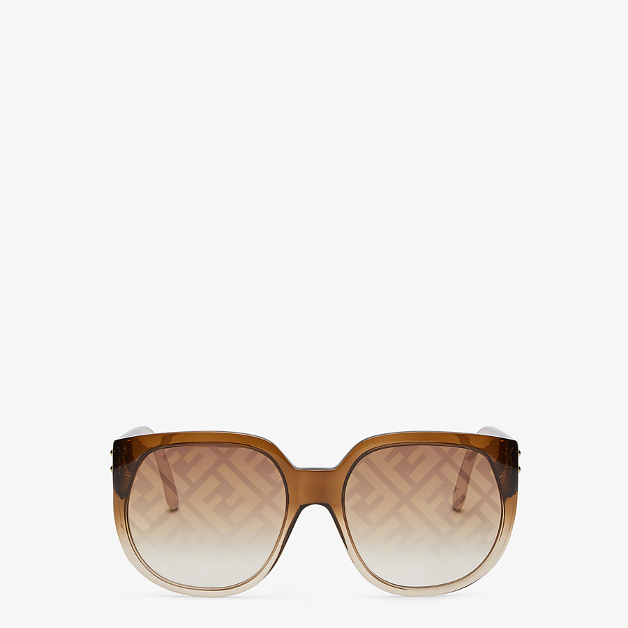 FENDI FENDI DAWN - Gradient effect injection-moulded sunglasses with FF logo - view 1 detail