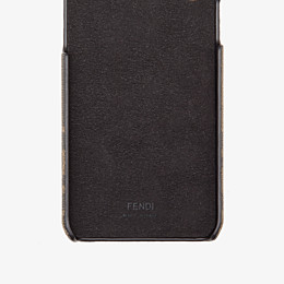 FENDI iPHONE X COVER - Cover in Braun - view 2 thumbnail