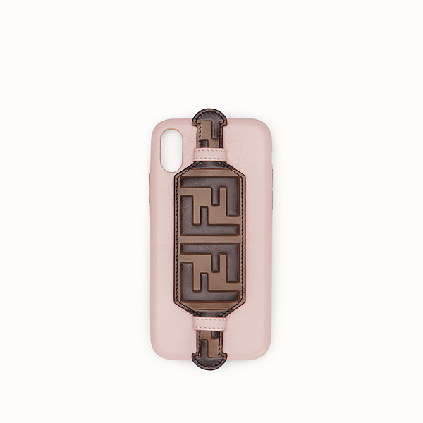 FENDI iPHONE X CASE - Pink cover - view 1 small thumbnail