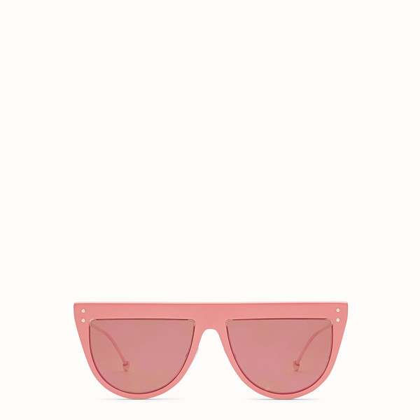 FENDI DEFENDER - Sonnenbrille in Rosa - view 1 small thumbnail