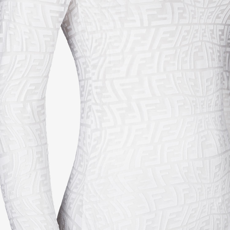 FENDI BODY - White tulle body - view 3 detail
