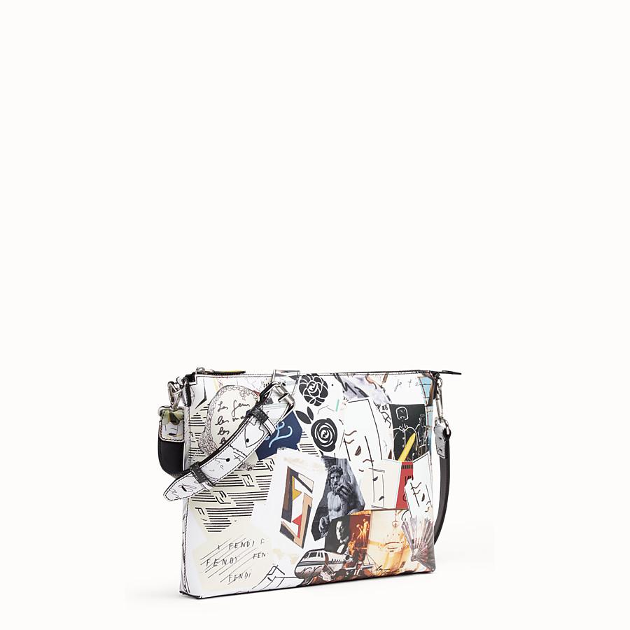 FENDI MESSENGER - Multicolour leather bag - view 2 detail