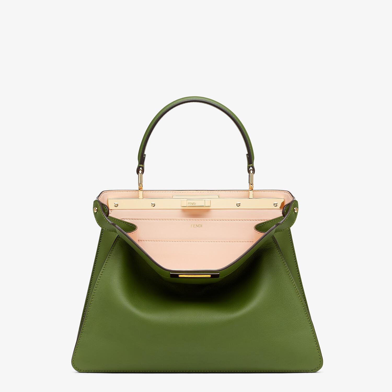 FENDI PEEKABOO ISEEU MEDIUM - Green leather bag - view 1 detail