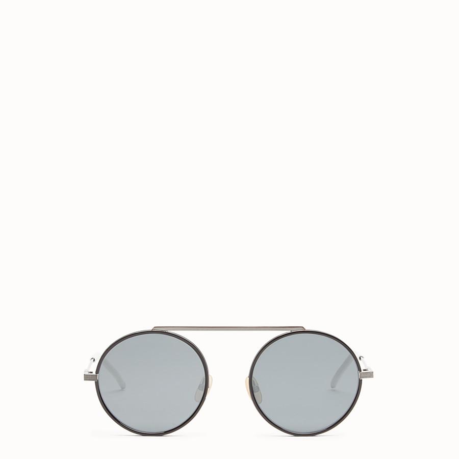 FENDI EVERYDAY FENDI - Ruthenium sunglasses - view 1 detail