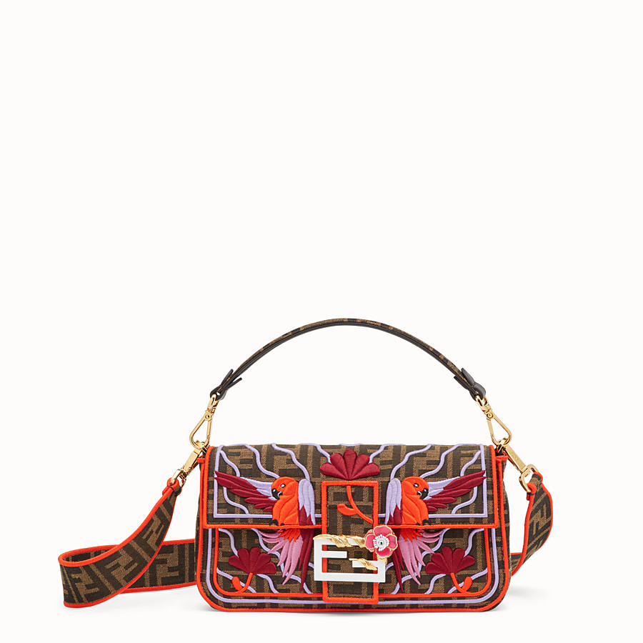FENDI BAGUETTE - Multicolour fabric bag - view 1 detail