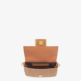 FENDI BAGUETTE - Brown leather bag - view 5 thumbnail