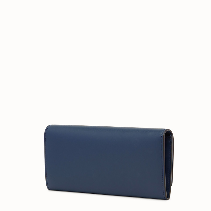 FENDI 장지갑 - 미드나잇 블루 컬러의 가죽 장지갑 - view 2 detail
