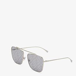 FENDI FF FAMILY - Metal sunglasses with FF logo - view 2 thumbnail