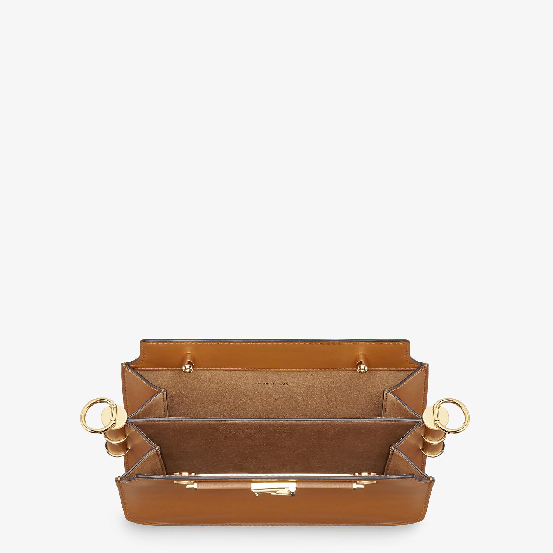 FENDI FENDI TOUCH - Brown leather bag - view 5 detail