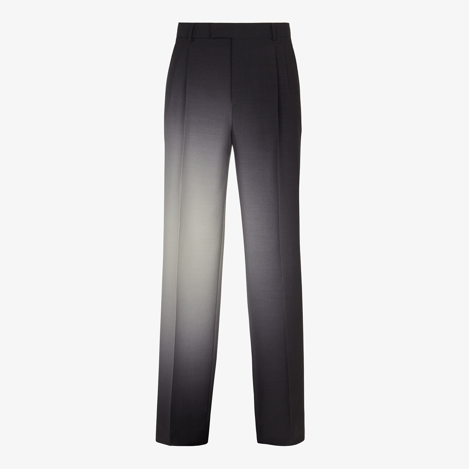 FENDI PANTS - Black wool pants - view 1 detail