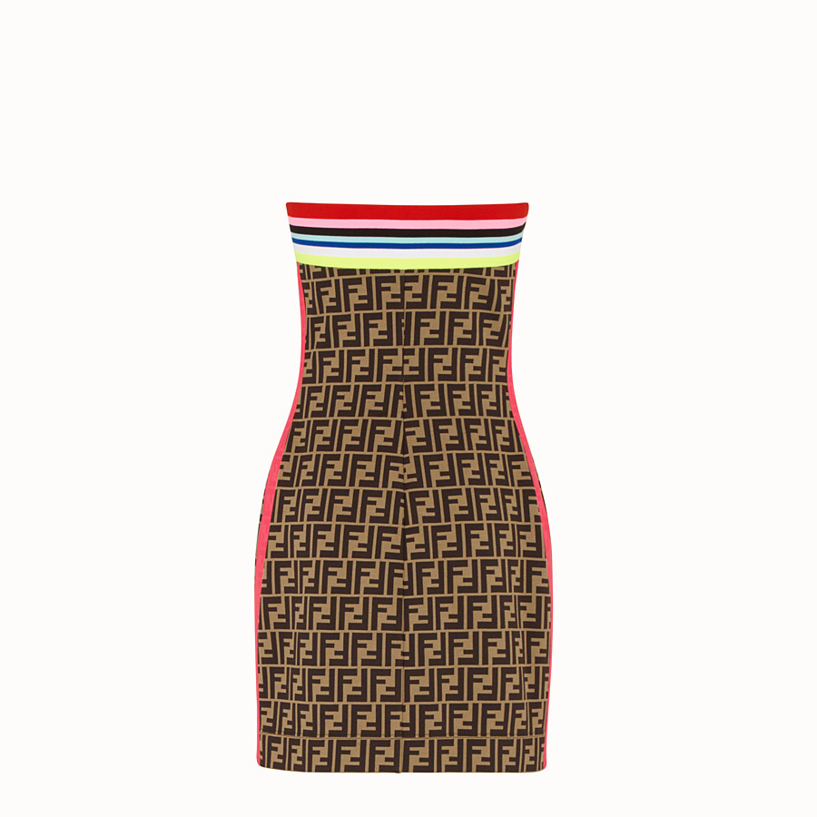 FENDI DRESS - Fendi Roma Amor jersey dress - view 2 detail