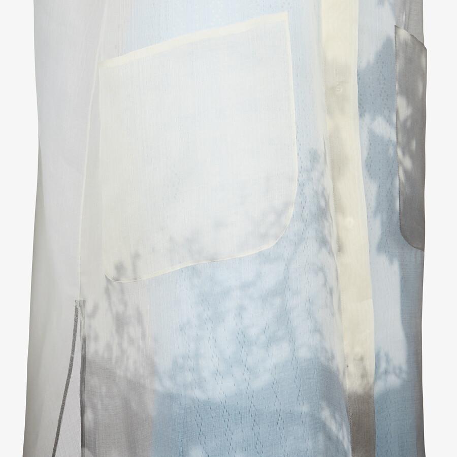 FENDI DRESS - White organza dress - view 3 detail